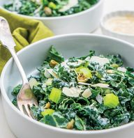 Creamy Roasted Garlic and Salsa Verde Avocado Yogurt Dressings Are the Perfect Addition to These Delicious Salad Recipes