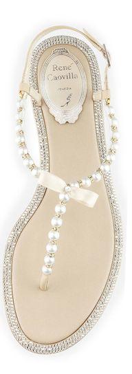 Pearl sandals = NEED IMMEDIATELY!!!