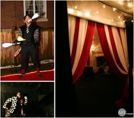 A circus themed 50th...