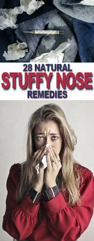 Natural Stuffy Nose Remedies | Fluster Buster