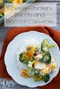 Chicken Broccoli Cas