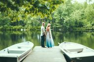 Water wedding portra