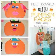 Felt Board Pumpkin F