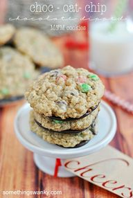 M&M Choc-Oat-Cookies