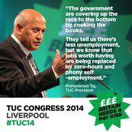 TUC President Mohamm