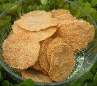 Amaranth crisps. Not