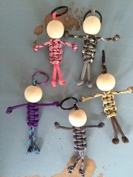 Paracord people keychain - stocking stuffer - paracord accessories - paracord keychain - team color keychain - custom keychain NEW item!! Little paracord people! Arent they just the cutest! At just $3.00 each they would make perfect stocking stuffers!! U