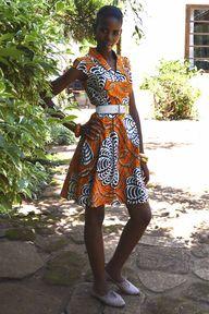 Kitenge summer dress