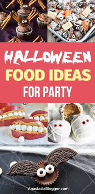 Halloween Food Ideas for Kids – Halloween Treats for a Party