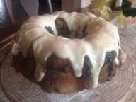 BLUEBERRY MUFFIN CAKE w/COLONNADE FROSTING * sugar or sugar-free * fresh blueberries * - Cindys ON-Line recipe box
