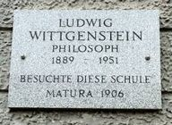 Image result for wittgenstein plaques