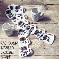 Rae Dunn Inspired Scarves - Sew Crafty Crochet