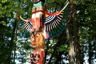 Totem Pole at the Pa