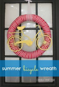 Summer Bicycle Wreat