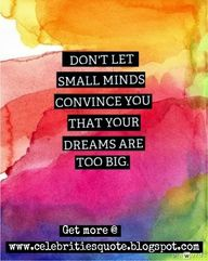 Don't Let small mind