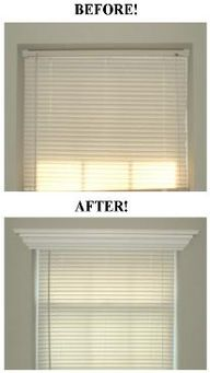 Add crown molding to
