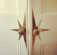 vintage brass door s