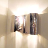 Folded Sconce in Nic