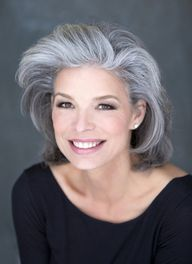 So many women fight the appearance of gray hair. I say why not embrace this stunning look and make the most of it!