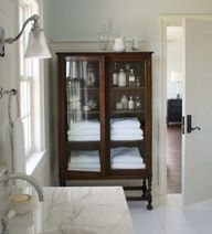 40 Ways to Decorate with Antique Furniture in the Bathroom - The Glam Pad