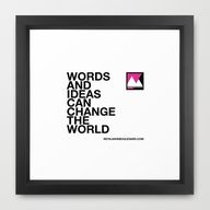 Words and ideas can