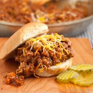 Hearty Sloppy Joes -