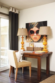 Artful Office Nook |