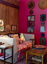 BOHEMIAN DECORATING IDEAS. VINTAGE BOHO CHIC.