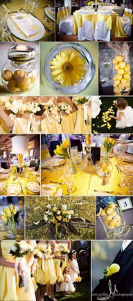 Beautiful Yellow Wed