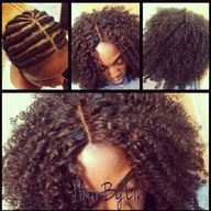 Crotchet braids
