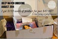 Julep Maven Unboxing...