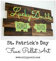 St Patricks Day Faux