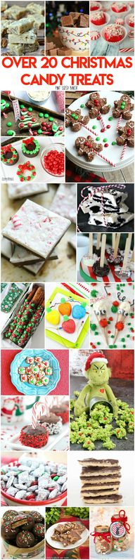 Over 20 Christmas Candy Treats