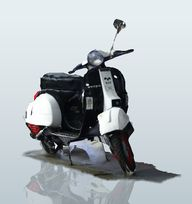 Vespa P125X - by And