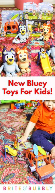 #AD We're obsessed with @officialblueytv & we are beyond thrilled we got the opportunity to check out some of the amazing New #blueytoys from Moose Toys before they were released! Check out all the details #ontheblog today! #bluey