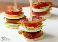 BLT Tea Sandwiches.