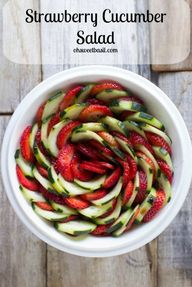 Strawberry Cucumber
