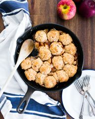 Skillet Apple Cobble