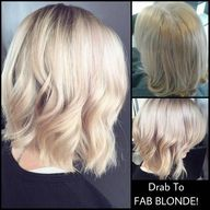 In-Salon work by the Amazing Pasquale Top Stylist Talita Gough. This Client went from Drab to Fab in a few hours. Phone Today for an Appointment 011 391 3105/6. www.pasquale.co.za #pasquale #rosegold #hair