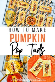 Learning how to make your own pop tarts is easy and so fun! Try this pumpkin pop tarts recipe and see for yourself!