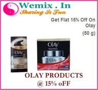 Olay Products at 15%
