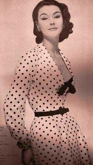 Vogue 1954 , Polka D