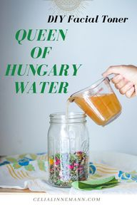 An Adaptable Queen of Hungary Water Recipe can be made with freshly harvested herbs from the garden or with dried herbs - BOTH create a decedent and healing formula. My favorites herbs to include are skin soothers like Plantain and Calendula, and uplifting florals like Chamomile, Rose and Borage. This is my go-to DIY skin care recipe for a fragrant and effective facial toner.