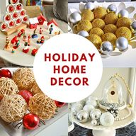 Holiday Seasons Home Decor