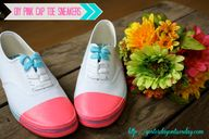 DIY Shoes - cute tut