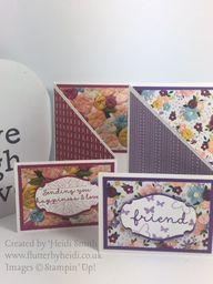 Needlepoint Nook Suite: Zig Zag card – flutterbyheidi