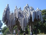 Sibelius Monument is...