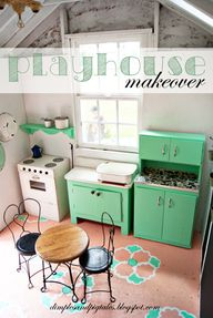 Playhouse Makeover -
