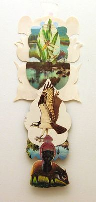 collage totems, deni