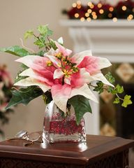 Silk Poinsettia Arra